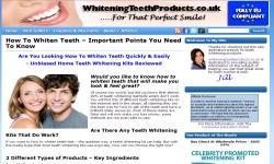 WhiteningTeethProducts.co.uk